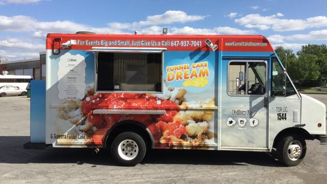 Funnel Cake Truck Toronto