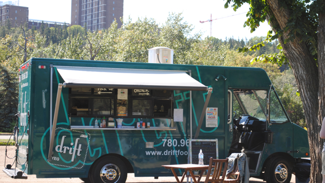 Drift Food Truck Location