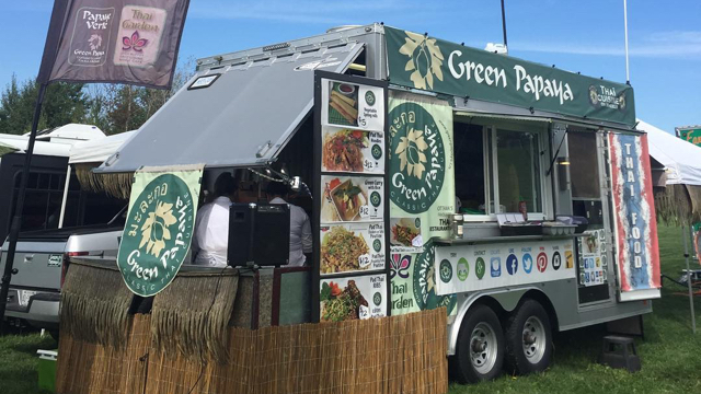 Green Papaya Thai Wagon photo