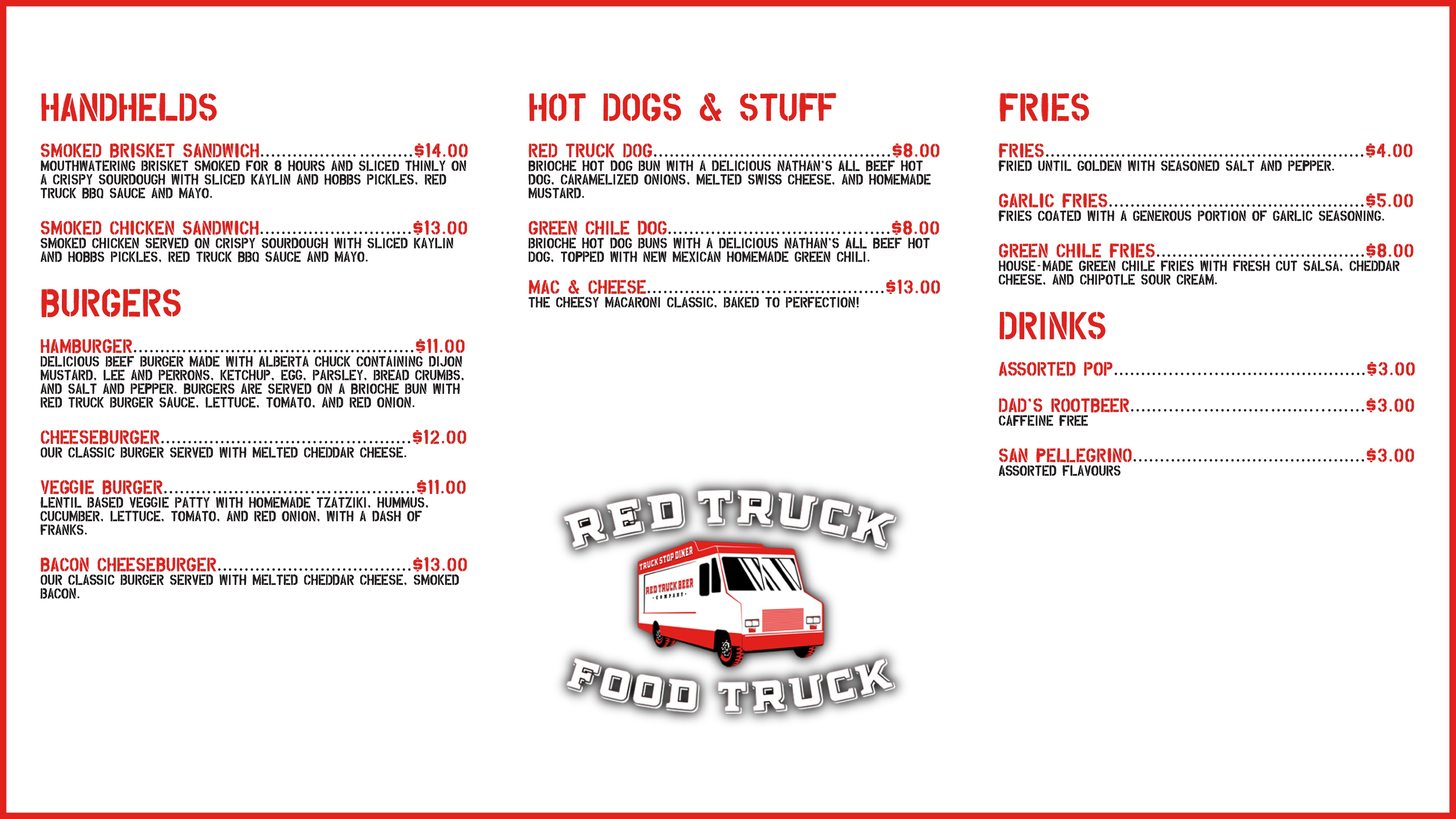 Red Truck Food Truck photo