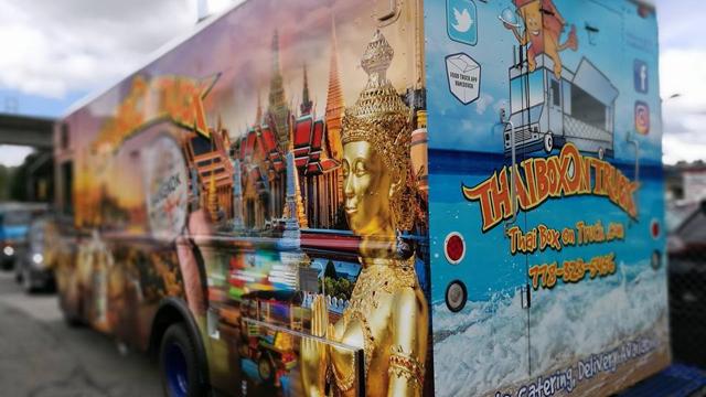 Thai Box On Truck photo